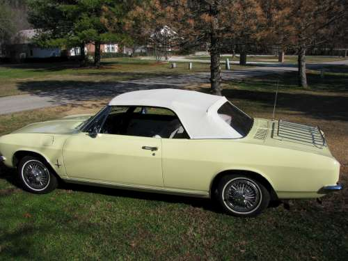 Bob & Rose' Yellow 1966 Corvair
