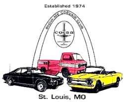 Show-Me Corvair Club Logo